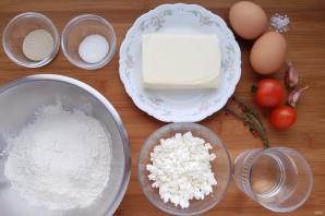 Пиде с сыром и яйцом - фото шаг 1