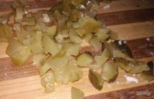 Мясной салат с индейкой - фото шаг 5
