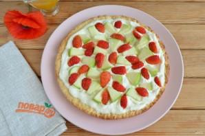 Яблочная пицца с карамелью - фото шаг 10
