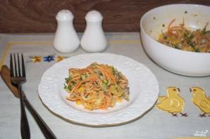 Салат из куриной печени - фото шаг 7