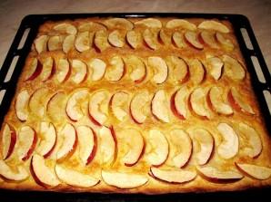 Песочный пирог с яблоками - фото шаг 7