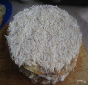Закусочный торт без выпечки - фото шаг 7