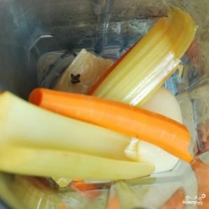 Кремовый куриный суп - фото шаг 4