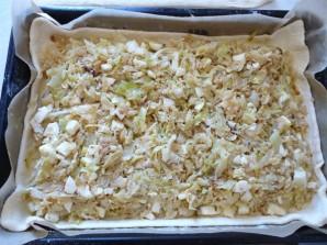 Капустный пирог с яйцом - фото шаг 8