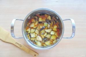 Армянский суп с баклажанами