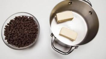 Шоколадно-кофейное печенье - фото шаг 2