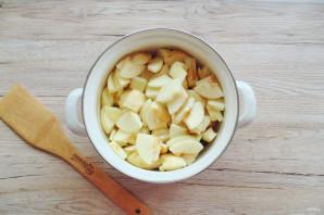 Вишневое варенье с яблоками - фото шаг 5