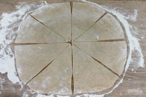Песочные рожки - фото шаг 8