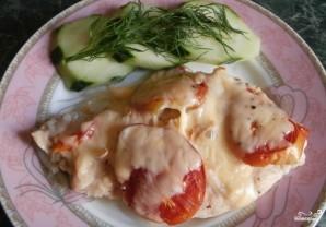 Куриная грудка отбивная с сыром в духовке - фото шаг 4