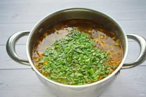 Гречневый суп с баклажанами - фото шаг 6