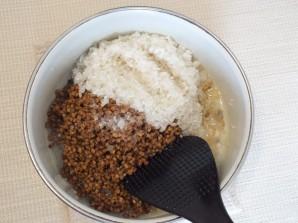 Гречнево-рисовая каша - фото шаг 4