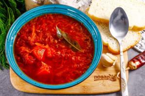 Борщ с помидорами - фото шаг 10