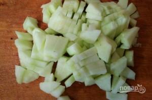 Салат из крабовых палочек с киви - фото шаг 4