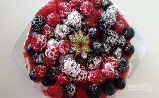 Чизкейк с ягодами (без выпечки) - фото шаг 6
