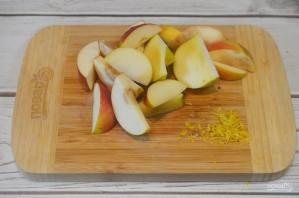 Варенье из яблок и грецких орехов в мультиварке - фото шаг 1