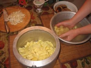 Курица с картошкой в скороварке - фото шаг 3