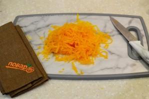 Салат из тыквы с яйцом и чесноком - фото шаг 1