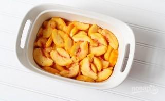 Коблер с персиками - фото шаг 1