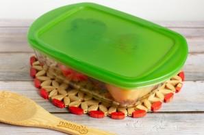 Рулетики из запеченного перца с творожным сыром - фото шаг 5