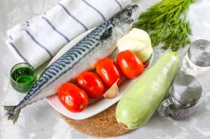 Салат со скумбрией на зиму - фото шаг 1