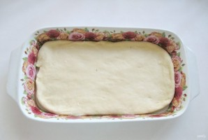 Дрожжевой пирог с абрикосами - фото шаг 6