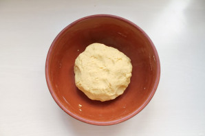Тесто из кукурузной муки для пирожков - фото шаг 5