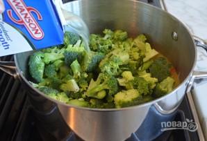 Крем-суп с брокколи и сыром - фото шаг 5