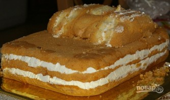 "Торт ""Молния Маквин"" - фото шаг 2"