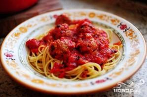 Спагетти с фрикадельками - фото шаг 24