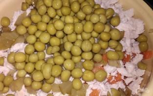 Мясной салат с индейкой - фото шаг 6