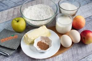 Ароматный яблочный пирог с корицей - фото шаг 1