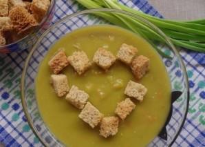Гороховый суп с гренками - фото шаг 4