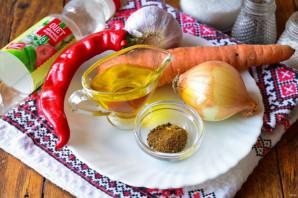 Закуска из лука и моркови - фото шаг 1