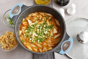 Корейский суп - фото шаг 9