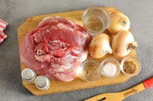 Шашлык из свиной вырезки - фото шаг 1
