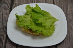 Сырный бургер - фото шаг 8