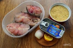 Рыбные зразы с печенью трески - фото шаг 1