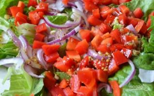 Салат из тунца в масле - фото шаг 8