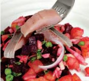 Салат из сельди - фото шаг 3