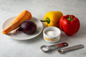 Карамелизированные овощи в сковороде - фото шаг 1
