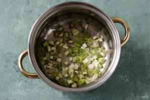Суп из тыквы и шпината - фото шаг 2
