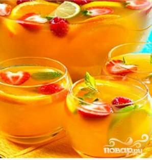 Летний фруктовый пунш - фото шаг 5