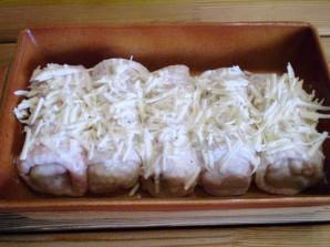 Кафтаны с картофелем и сыром - фото шаг 14