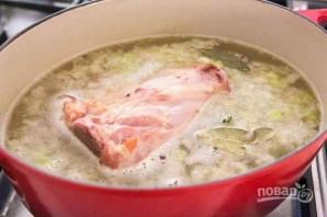 Суп с ветчиной и картофелем - фото шаг 2