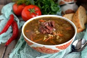 Пряный суп с чечевицей и рисом - фото шаг 7