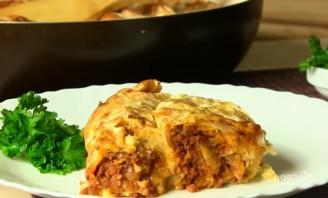 Пирог с мясом из лаваша - фото шаг 7