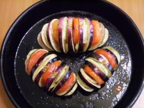 Баклажаны в духовке на скорую руку - фото шаг 6