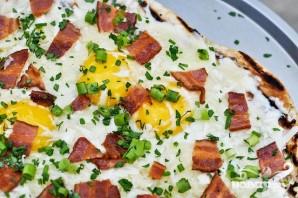 Пицца на гриле на завтрак - фото шаг 5