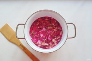 Холодный латышский суп