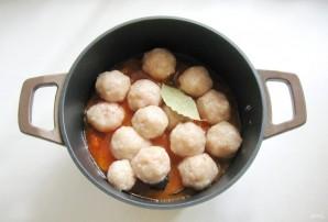Тефтели с кабачками и баклажанами в соусе - фото шаг 8